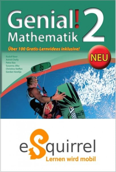 eSquirrel - Genial! Mathematik 2 - Schullizenz PLUS