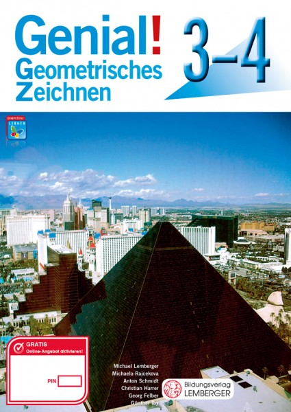 Genial! Geometrisches Zeichnen 3-4 - Schulbuch
