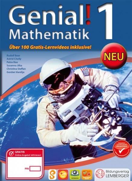 Genial! Mathematik 1 - Schulbuch NEU