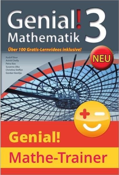 KOMBI Genial! Mathematik 3 + Genial! Mathe-Trainer Jahresabo