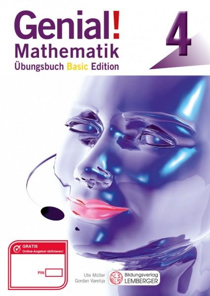 Genial! Mathematik 4 - Übungsbuch Basic Edition