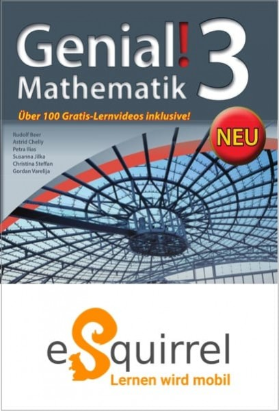 eSquirrel - Genial! Mathematik 3 - Schullizenz PLUS