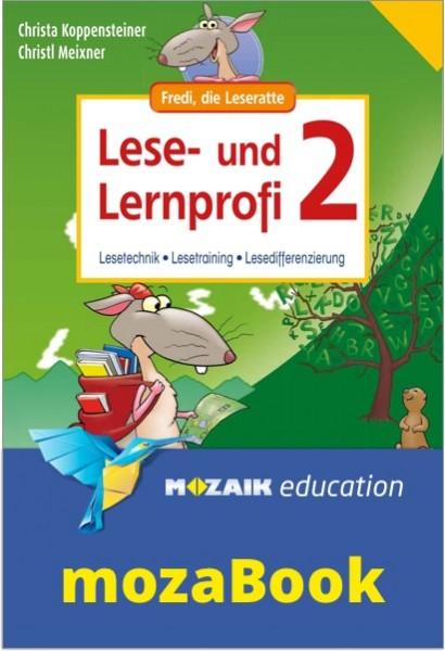 mozaBook - Lese- und Lernprofi 2 NEU - Schulbuch