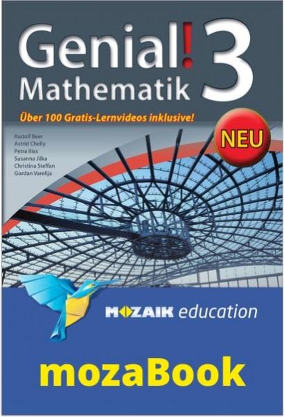mozaBook - Genial! Mathematik 3 - NEU