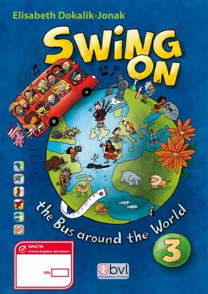 SWING ON the Bus around the World 3 - Pupil's book