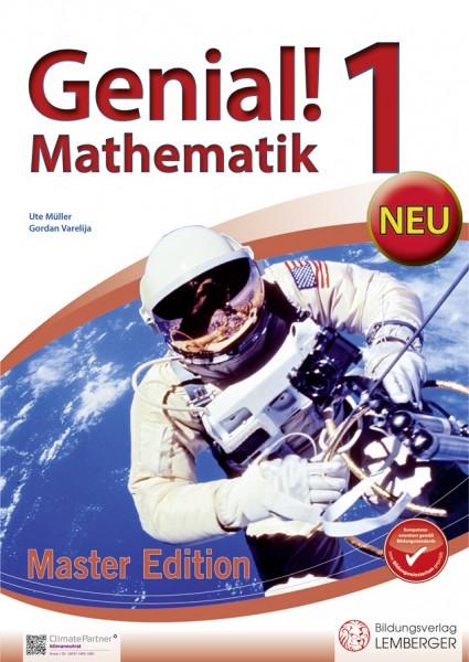 Genial! Mathematik 1 - Übungsbuch Master Edition NEU