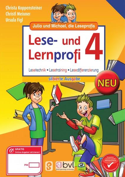 Lese- und Lernprofi 4 - Schulbuch: Silbierte Ausgabe