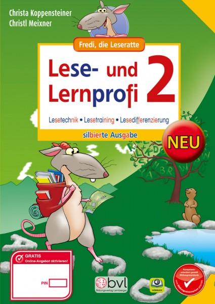 Lese- und Lernprofi 2 - Schulbuch: Silbierte Ausgabe
