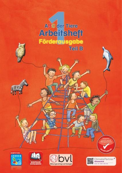 ABC der Tiere 1 kompakt - Schulbuch: Lesen in Silben - Arbeitsheft - Teil B (2. Semester)