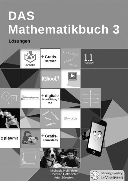 Das Mathematikbuch 3 - Schulbuch IKT_Version 1.1 - Lösungen