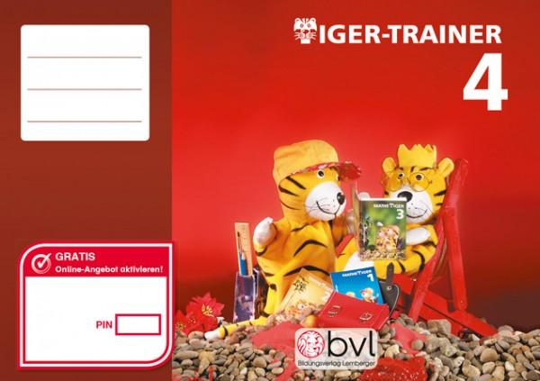 Mathetiger 4 - Schulbuch Tiger-Trainer