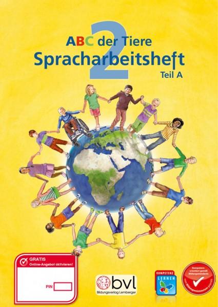 ABC der Tiere 2 - Schulbuch: Spracharbeitsheft A