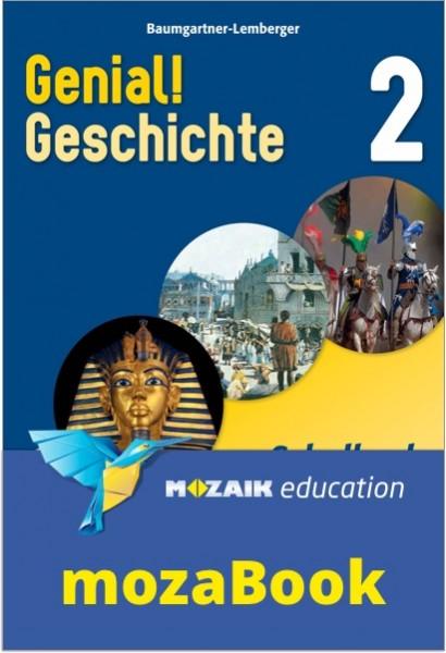 mozaBook - Genial! Geschichte 2 - Schulbuch (mit Lösungen)