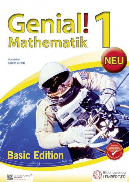 Genial! Mathematik 1 - Übungsbuch Basic Edition NEU