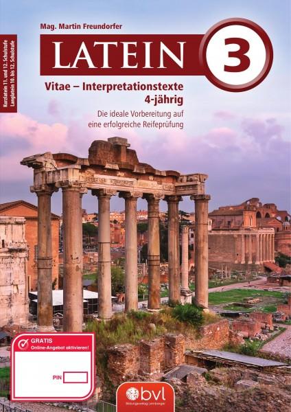 Vitae - Interpretationstexte Band 3 (für Latein vierjährig)