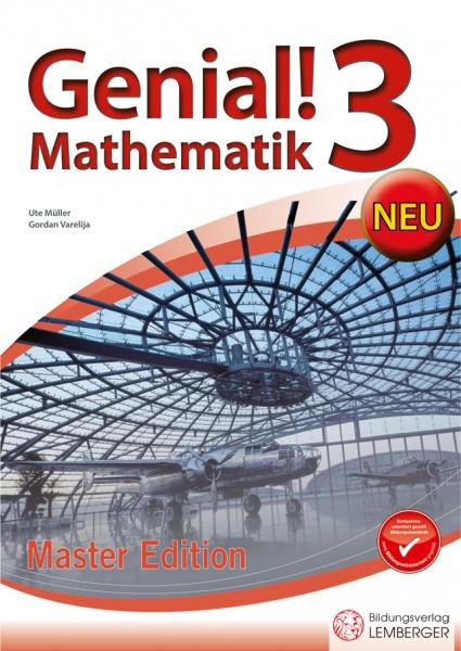 Genial! Mathematik 3 - Übungsbuch Master Edition NEU
