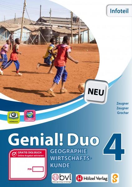Genial! DUO Geographie/Wirtschaftskunde 4 - Info-Teil