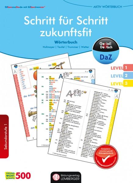 Genial! Deutsch DAZ - Schritt für Schritt zukunftsfit - Schulbuch - Silbenmethode und Bildteil