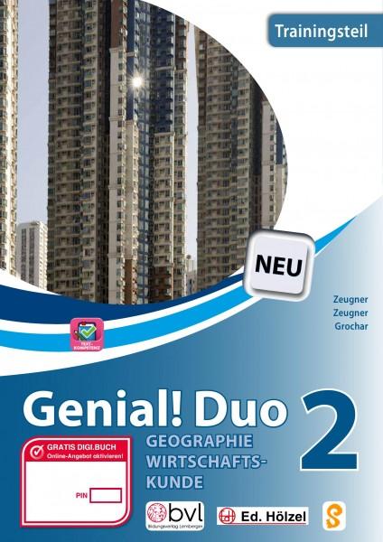 Genial! DUO Geographie/Wirtschaftskunde 2 - Trainings-Teil