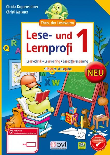 Lese- und Lernprofi 1 - Schulbuch: Silbierte Ausgabe