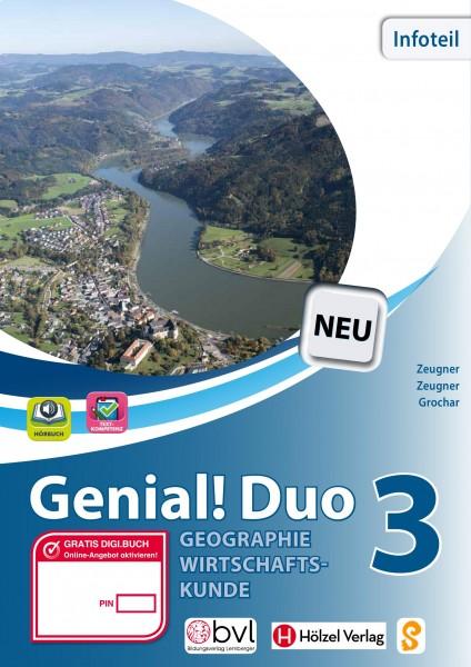 Genial! DUO Geographie/Wirtschaftskunde 3 - Info-Teil