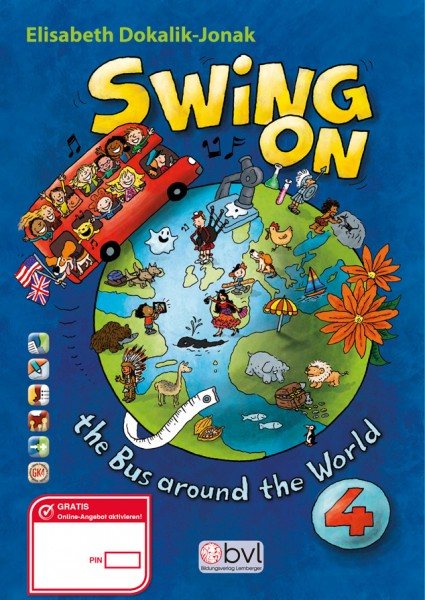 SWING ON the Bus around the World 4 - Pupil's book
