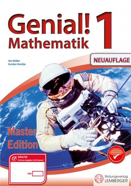 Genial! Mathematik 1 - Übungsteil Master Edition