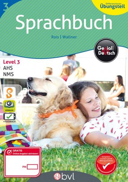 Genial! Deutsch 3 - Sprachbuch: Differenzierter Übungsteil (mit Lösungsheft)