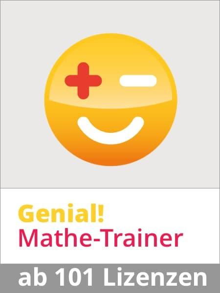 Genial! Mathe-Trainer Jahresabo ab 101 SchülerInnen