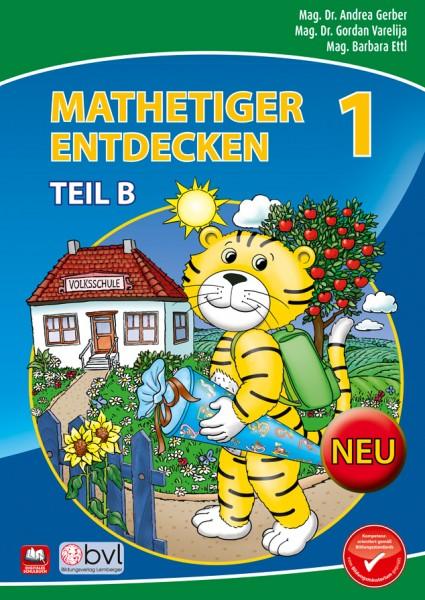 Mathetiger 1 - Schulbuch Teil B (für das 2. Semester)