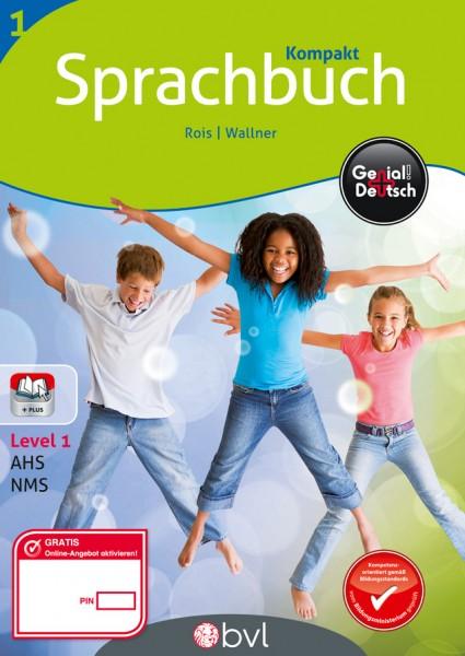 Genial! Deutsch 1 - Sprachbuch NEU: Kompaktausgabe (mit Lösungsheft)