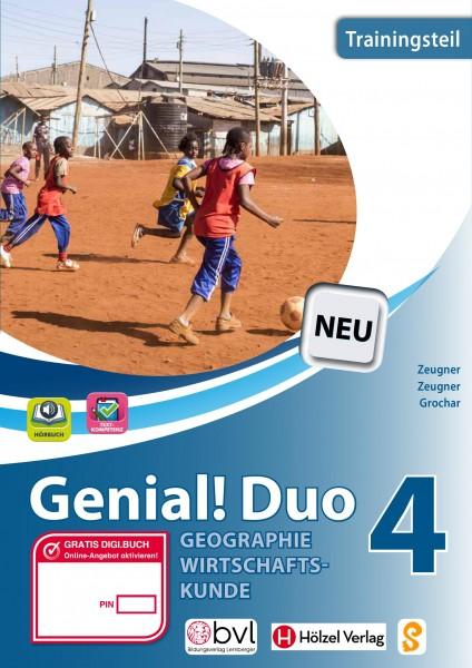 Genial! DUO Geographie/Wirtschaftskunde 4 - Trainings-Teil