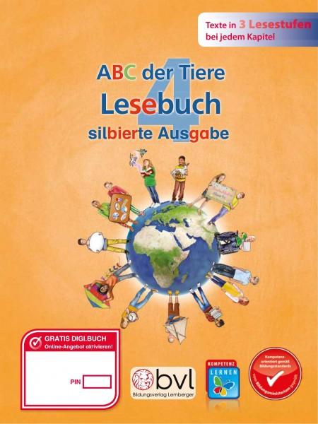 ABC der Tiere 4 - Schulbuch: Lesebuch NEU - Silbenausgabe