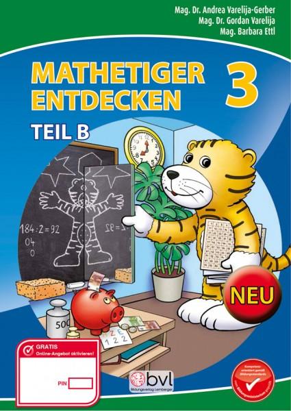 Mathetiger 3 - Schulbuch Teil B (für das 2. Semester)
