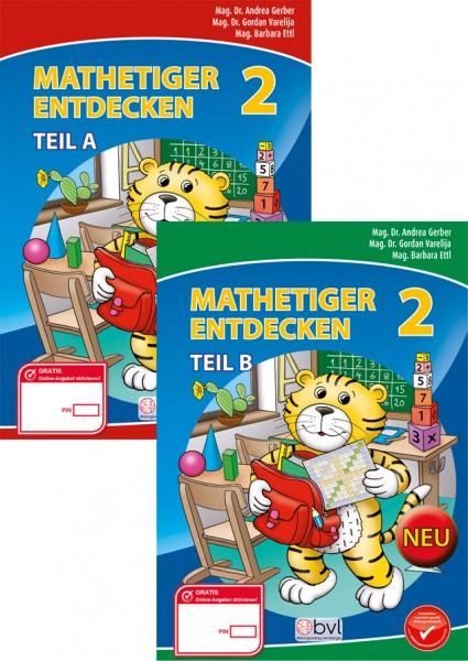 Mathetiger 2 - Schulbuch (SET, 2-teilig)