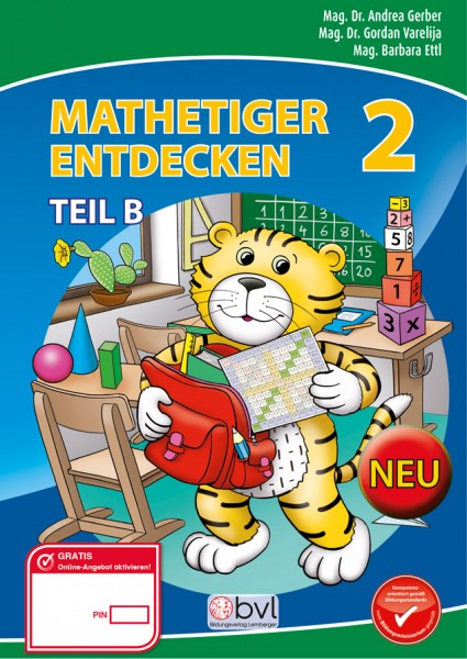 Mathetiger 2 - Schulbuch Teil B (für das 2. Semester)