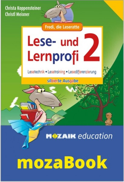 mozaBook - Lese- und Lernprofi 2 NEU - Schulbuch: Silbierte Ausgabe