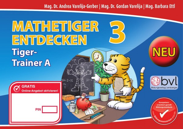 Mathetiger 3 - Schulbuch Tigertrainer (2-teilig)