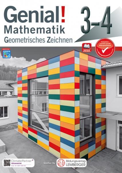 Genial! Mathematik 3-4 - Geometrisches Zeichnen