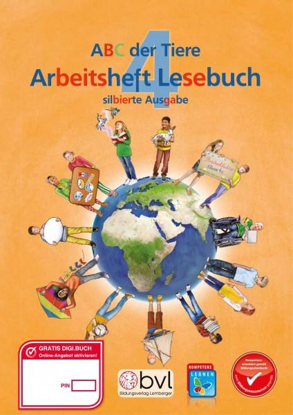 ABC der Tiere 4 - Schulbuch: Lesebuch Arbeitsheft NEU - Silbenausgabe