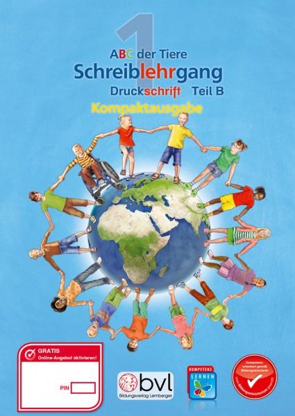 ABC der Tiere 1 - Schulbuch Kompaktausgabe: Schreiblehrgang - Teil B