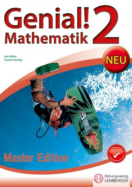 Genial! Mathematik 2 - Übungsbuch Master Edition NEU