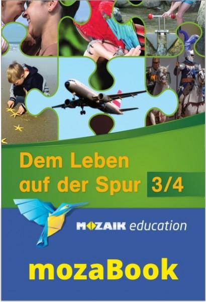 mozaBook - Dem Leben auf der Spur 3/4, Schulbuch