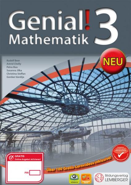 Genial! Mathematik 3 - Schulbuch NEU