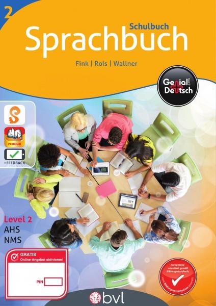 Genial! Deutsch 2 - Sprachbuch: Schulbuch (mit Lösungsheft)