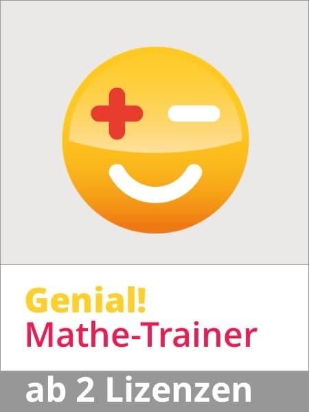 Genial! Mathe-Trainer Jahresabo ab 2 SchülerInnen