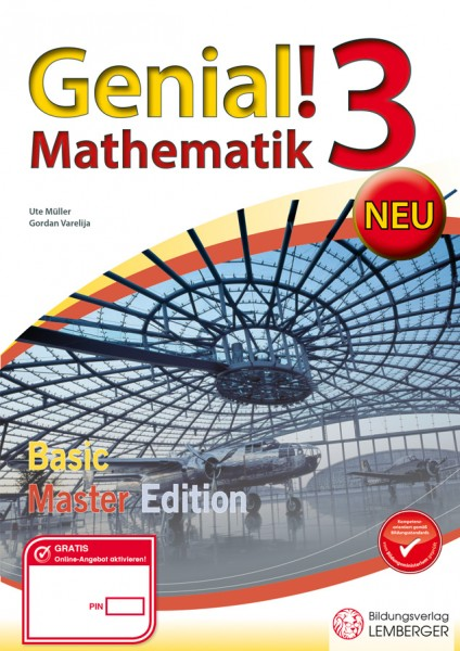 Genial! Mathematik 3 - Übungsteil Basic + Master Edition