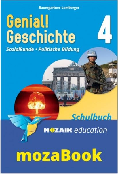 mozaBook - Genial! Geschichte 4 - Schulbuch (mit Lösungen)