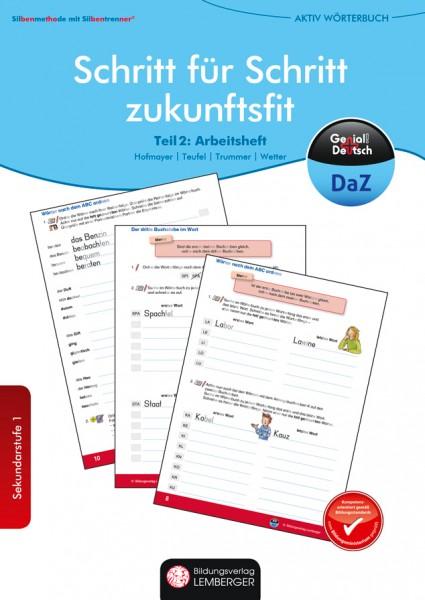 Genial! Deutsch DAZ - Schritt für Schritt zukunftsfit - Schulbuch - Aktiv-Silben-Wörterbuch