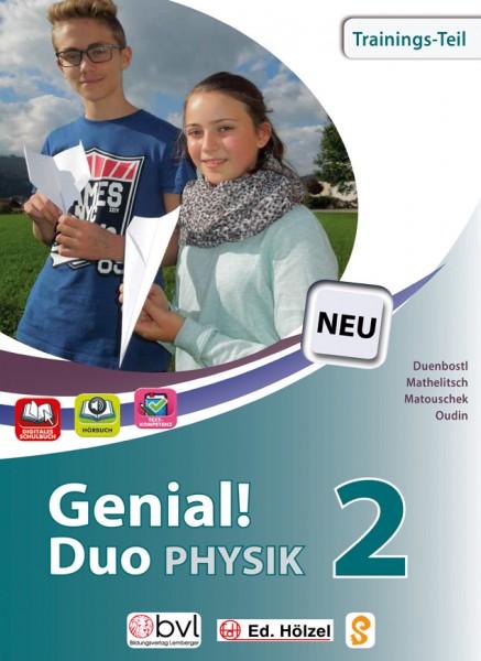 Genial! DUO Physik 2 - Trainings-Teil (mit Lösungsheft)
